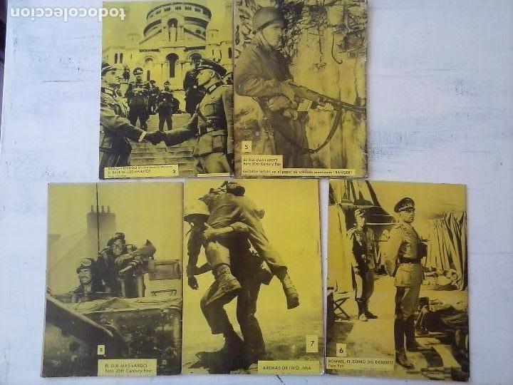 Tebeos: COMBATE EXTRA FERMA 1963 - NºS 3,5,6,7,8 - FORMATO GRANDE - - Foto 7 - 127680051