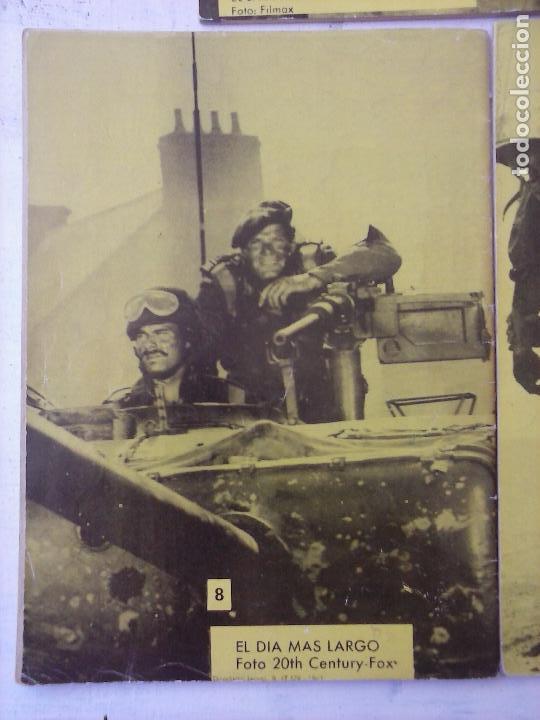 Tebeos: COMBATE EXTRA FERMA 1963 - NºS 3,5,6,7,8 - FORMATO GRANDE - - Foto 9 - 127680051