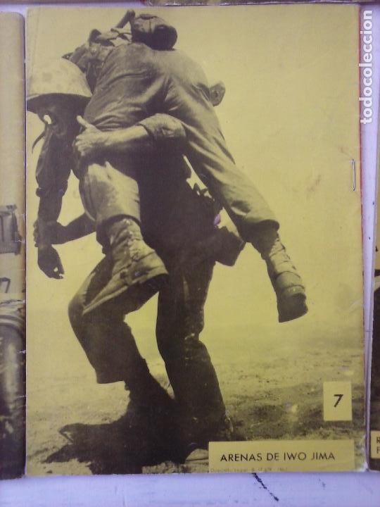 Tebeos: COMBATE EXTRA FERMA 1963 - NºS 3,5,6,7,8 - FORMATO GRANDE - - Foto 10 - 127680051