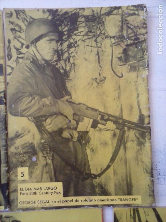 Tebeos: COMBATE EXTRA FERMA 1963 - NºS 3,5,6,7,8 - FORMATO GRANDE - - Foto 12 - 127680051