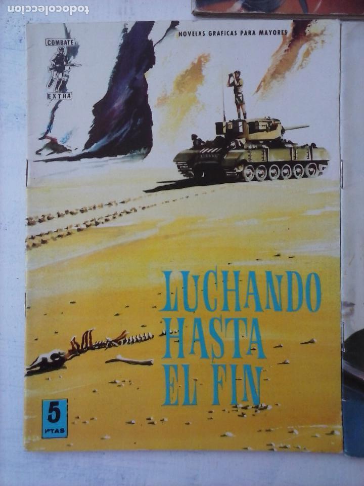 Tebeos: COMBATE EXTRA FERMA 1963 - NºS 3,5,6,7,8 - FORMATO GRANDE - - Foto 13 - 127680051