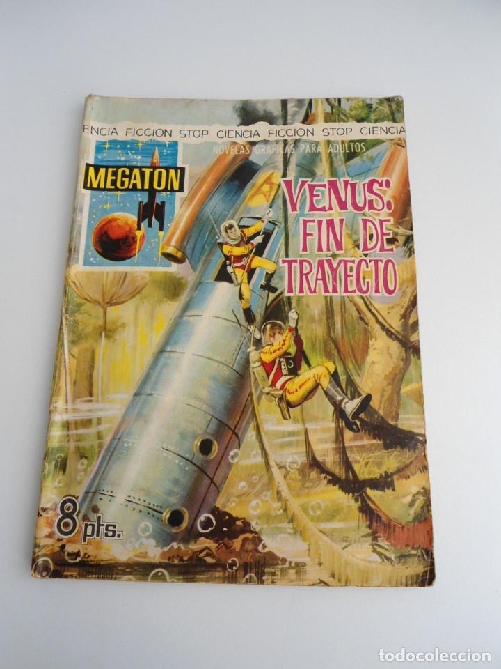 MEGATON Nº 21 - VENUS FIN DE TRAYECTO - EDITORIAL FERMA 1966 - COMPLETO (Tebeos y Comics - Ferma - Otros)