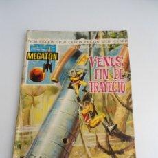 Tebeos: MEGATON Nº 21 - VENUS FIN DE TRAYECTO - EDITORIAL FERMA 1966 - COMPLETO. Lote 127682491