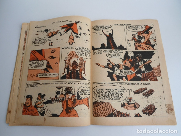 Tebeos: MEGATON nº 21 - VENUS FIN DE TRAYECTO - EDITORIAL FERMA 1966 - COMPLETO - Foto 11 - 127682491