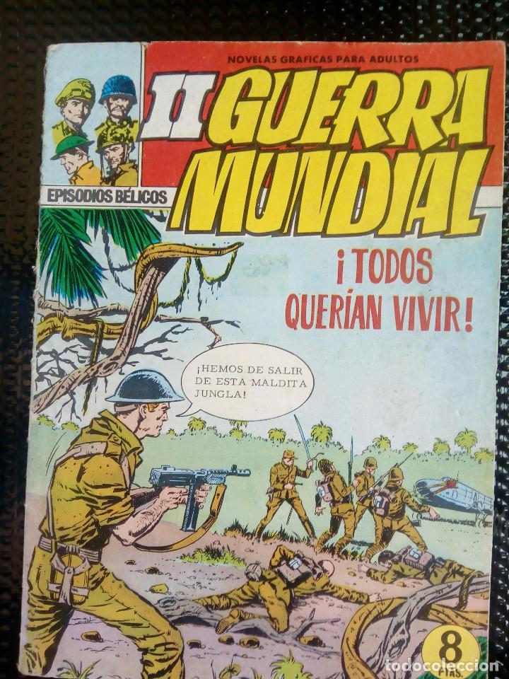 EPISODIOS BELICOS - II GUERRA MUNDIAL Nº 2 - EDT. FERMA 1967 ( M 3 ) (Tebeos y Comics - Ferma - Otros)