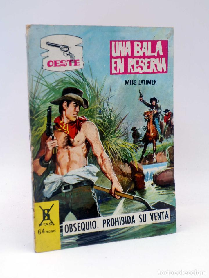 OESTE S/N. UNA BALA EN LA RESERVA. OBSEQUIO DETERGENTE HADA (MIKE LATIMER) FERMA, 1966. OFRT (Tebeos y Comics - Ferma - Otros)