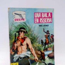 Livros de Banda Desenhada: OESTE S/N. UNA BALA EN LA RESERVA. OBSEQUIO DETERGENTE HADA (MIKE LATIMER) FERMA, 1966. OFRT. Lote 128520938