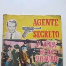Tebeos: AGENTE SECRETO. Nº 16. LA AGENDA DE LOS SENTENCIADOS FERMA. CS136. Lote 128628547