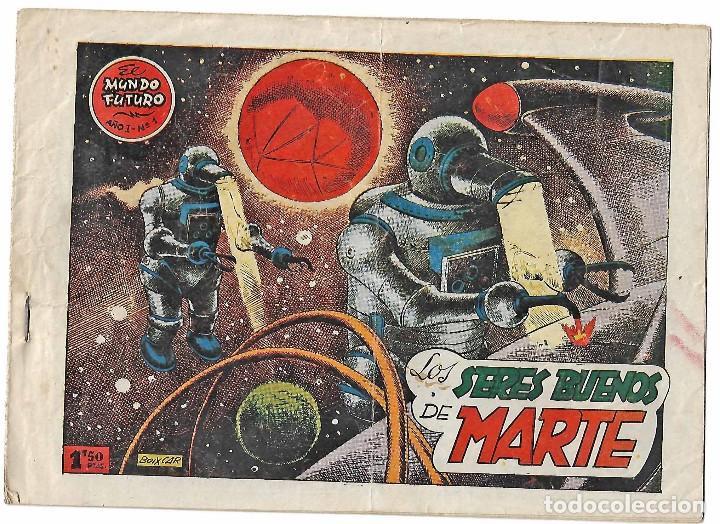EL MUNDO FUTURO Nº 1 TORAY 1955- BOIXCAR - BUEN ESTADO- LEER TODO (Tebeos y Comics - Ferma - Otros)