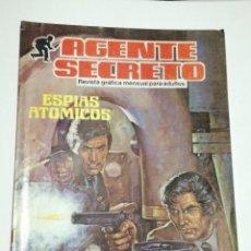 Tebeos: AGENTE SECRETO. ESPÍAS ATÓMICOS. N° 5.. Lote 130361158