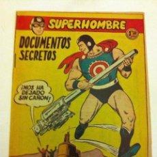 Tebeos: SUPERHOMBRE - DOCUMENTOS SECRETOS Nº. 46 (NUEVO). Lote 132092926