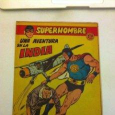 Tebeos: SUPERHOMBRE - UNA AVENTURA EN LA INDIA- Nº. 23. Lote 132093238