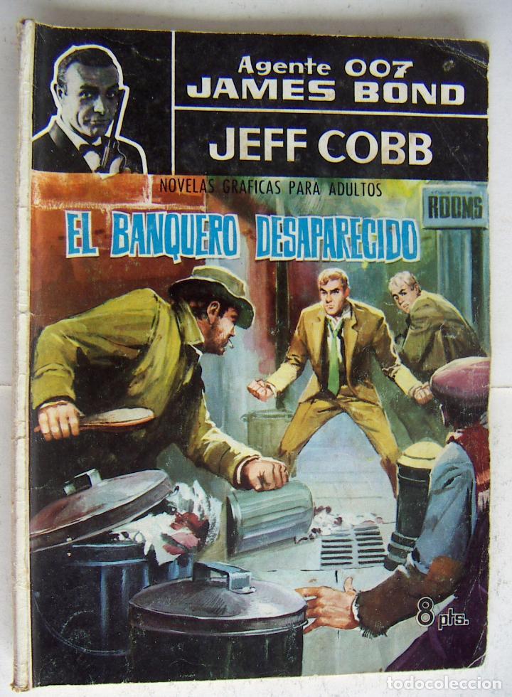 FERMA, AGENTE 007, JAMES BOND, Nº 2, EL BANQUERO DESAPARECIDO. JEFF COBB USADO (Tebeos y Comics - Ferma - Agente Secreto)