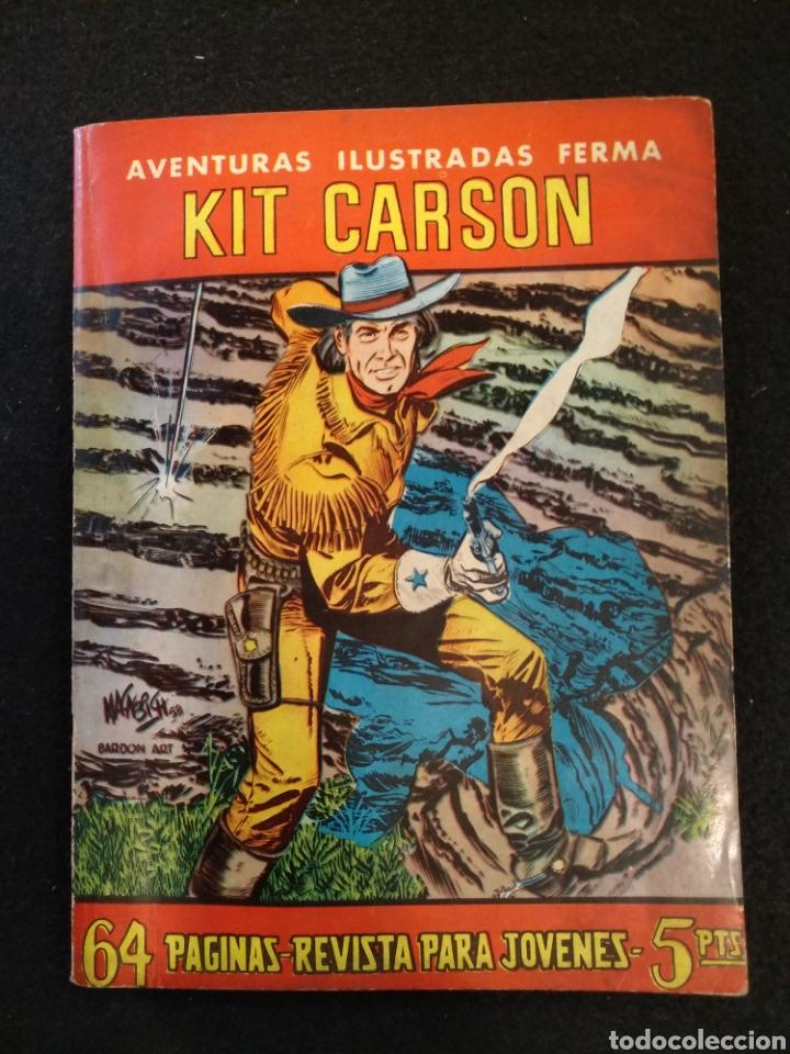 AVENTURAS ILUSTRADAS, KIT CARSON N° 16, FERMA (Tebeos y Comics - Ferma - Aventuras Ilustradas)