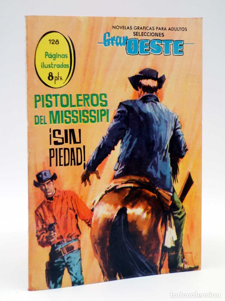 SELECCIONES GRAN OESTE 13. PISTOLEROS DEL MISSISSIPI / SIN PIEDAD. FERMA, 1963. OFRT (Tebeos y Comics - Ferma - Gran Oeste)
