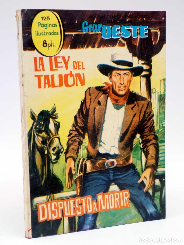 SELECCIONES GRAN OESTE 14. LA LEY DEL TALIÓN / DISPUESTO A MORIR. FERMA, 1963. OFRT (Tebeos y Comics - Ferma - Gran Oeste)