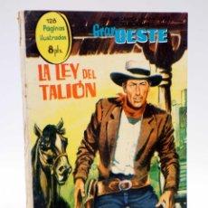 Tebeos: SELECCIONES GRAN OESTE 14. LA LEY DEL TALIÓN / DISPUESTO A MORIR FERMA, 1963. OFRT. Lote 154878657