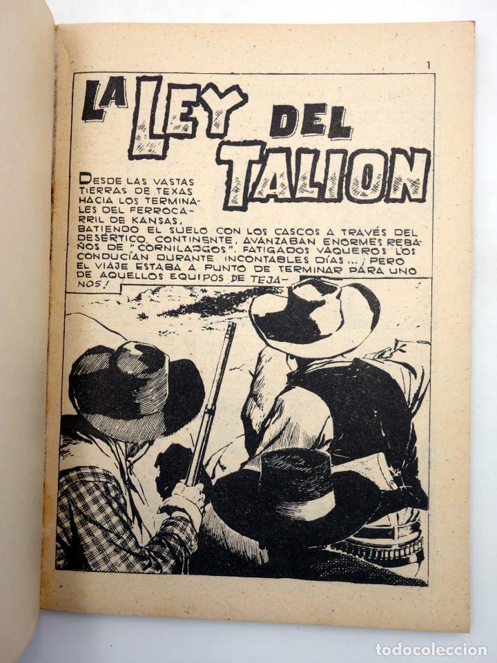 Tebeos: SELECCIONES GRAN OESTE 14. LA LEY DEL TALIÓN / DISPUESTO A MORIR. Ferma, 1963. OFRT - Foto 3 - 211684611