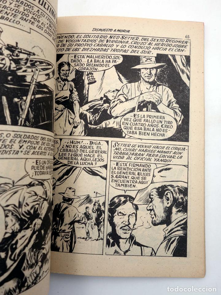 Tebeos: SELECCIONES GRAN OESTE 14. LA LEY DEL TALIÓN / DISPUESTO A MORIR. Ferma, 1963. OFRT - Foto 4 - 211684611