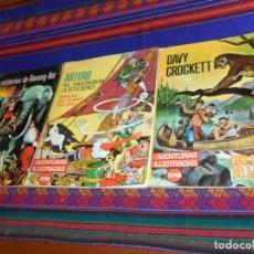 Tebeos: RÚSTICA AVENTURAS ILUSTRADAS EXTRA: ARTURO EL FANTASMA JUSTICIERO DAVY CROCKETT MISTERIOS RANANG-VAT. Lote 132919434
