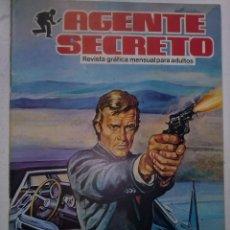 Tebeos: AGENTE SECRETO - Nº 11 - EL CONFIDENTE -1982-GRAN ARMANDO SÁNCHEZ-CORRECTO- MUY RARO-LEAN- 9368. Lote 133045978