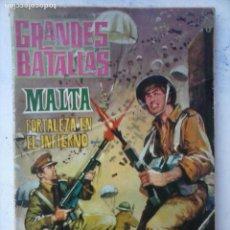 Tebeos: GRANDES BATALLAS Nº 35 - DIFICIL - 16,5 X 12 CMS. FERMA 1963 - 64 PGS.. Lote 133056226