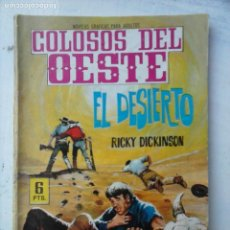 Tebeos: COLOSOS DEL OESTE Nº 67 - FERMA 1964 - FOTO MINA, ANA MARIA MAZZINI. Lote 133059566