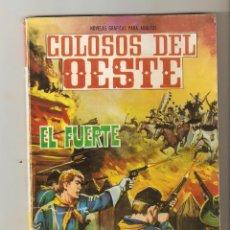 Tebeos: EL FUERTE - COLOSOS DEL OESTE Nº 74 - EDITORIAL FERMA - NOVELA GRAFICA DEL OESTE - 1964 - . Lote 133166446