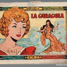 Tebeos: CARACOLA, LA. COL. GRACIELA Nº-159 EDICIONES TORAY 1957. Lote 133541762