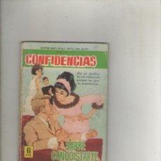 Tebeos: SERIE CONFIDENCIAS-EDITORIAL FERMA-B/N-AÑO 1962-FORMATO GRAPA-Nº 327-SABRE CONQUISTARTE. Lote 133625878