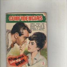 Tebeos: SERIE CONFIDENCIAS-EDITORIAL FERMA-B/N-AÑO 1962-FORMATO GRAPA-Nº 113-NO DEJES QUE ME VAYA. Lote 133626258