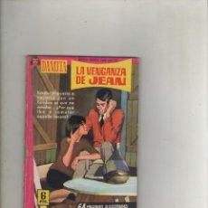 Tebeos: SERIE DAMITA-FERMA-B/N-AÑO 1958-FORMATO GRAPA-Nº 334-LA VENGANZA DE JEAN. Lote 133630290