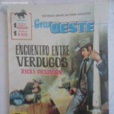Tebeos: GRTAN OESTE Nº 205 - FERMA 1962 - CATHERINE DENEUVE FOTO -MUY NUEVA. Lote 133675518