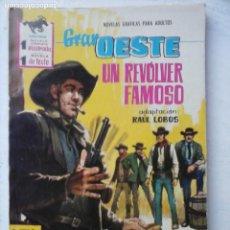 Tebeos: GRAN OESTE Nº 220 - FERMA 1962 - COMO NUEVO. Lote 133676194