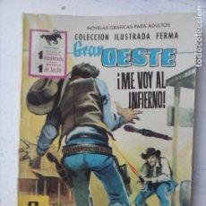Tebeos: GRAN OESTE Nº 192 - FERMA 1962 - MUY BUENA - RICHRD CHAMBERLAIN Y LINDA EVANS FOTO. Lote 133676382