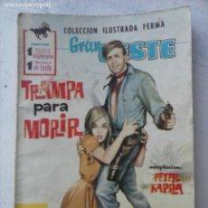 Tebeos: GRAN OESTE Nº 144 - FERMA 1962 - FOTO PASCALE ROBERT Y JEAN PIAF. Lote 133676470