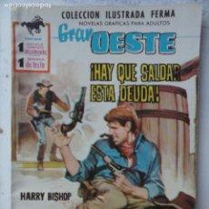 Tebeos: GRAN OESTE Nº 167 - FERMA 1962 - MUY NUEVA - CYD CHARISE FOTO. Lote 133676538