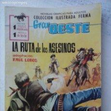 Tebeos: GRAN OESTE Nº 194 - FERMA 1962 - BUEN ESTADO - STUART WHITMAN FOTO. Lote 133676610