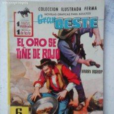 Tebeos: GRAN OESTE Nº 153 - FERMA 1962 - COMO NUEVO - TY HARDING FOTO. Lote 133676666