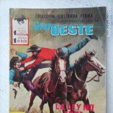 Tebeos: GRAN OESTE Nº 151 - FERMA 1962 - COMO NUEVO - SARA MONTIEL FOTO , MARIA ANTONIA ABAD FERNÁNDEZ. Lote 133676794
