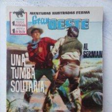 Tebeos: GRAN OESTE Nº 87 - FERMA 1962 - MUY BIEN. Lote 133677122
