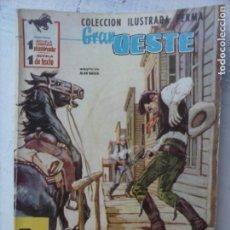 Tebeos: GRAN OESTE Nº 143 - FERMA 1962 - MUY BIEN TIPO DAVY CROCCKET. Lote 133677234