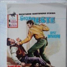 Tebeos: GRAN OESTE Nº 79 - FERMA 1962 - COMO NUEVO. Lote 133677434