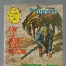Tebeos: SELECCIONES GRAN OESTE 21: CON LA MUERTE A SUS ESPALDAS / MUESCA DE ODIO, 1963, FERMA. Lote 133791406