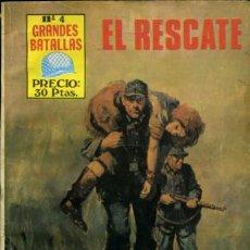Tebeos: GRANDES BATALLAS - Nº 4 - EL RESCATE -GRAN JAIME FORNS-BUENO-RARO-DIFÍCIL-LEAN-9405. Lote 133849778
