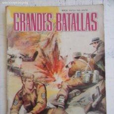 Tebeos: GRANDES BATALLAS Nº 77 - EDI. FERMA 1965. Lote 134020006