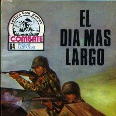Tebeos: COMBATE-NOVELA GRÁFICA SEMANAL- Nº 131 -EL DÍA MÁS LARGO-BUENO-1978-MUY DIFÍCIL-LEAN-4256. Lote 233922280