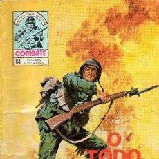 Tebeos: COMBATE- NOVELA GRÁFICA SEMANAL- Nº 226 -O TODO O NADA- A. REDONDO-1980-DIFÍCIL-CASI BUENO-LEAN-9854. Lote 144642994