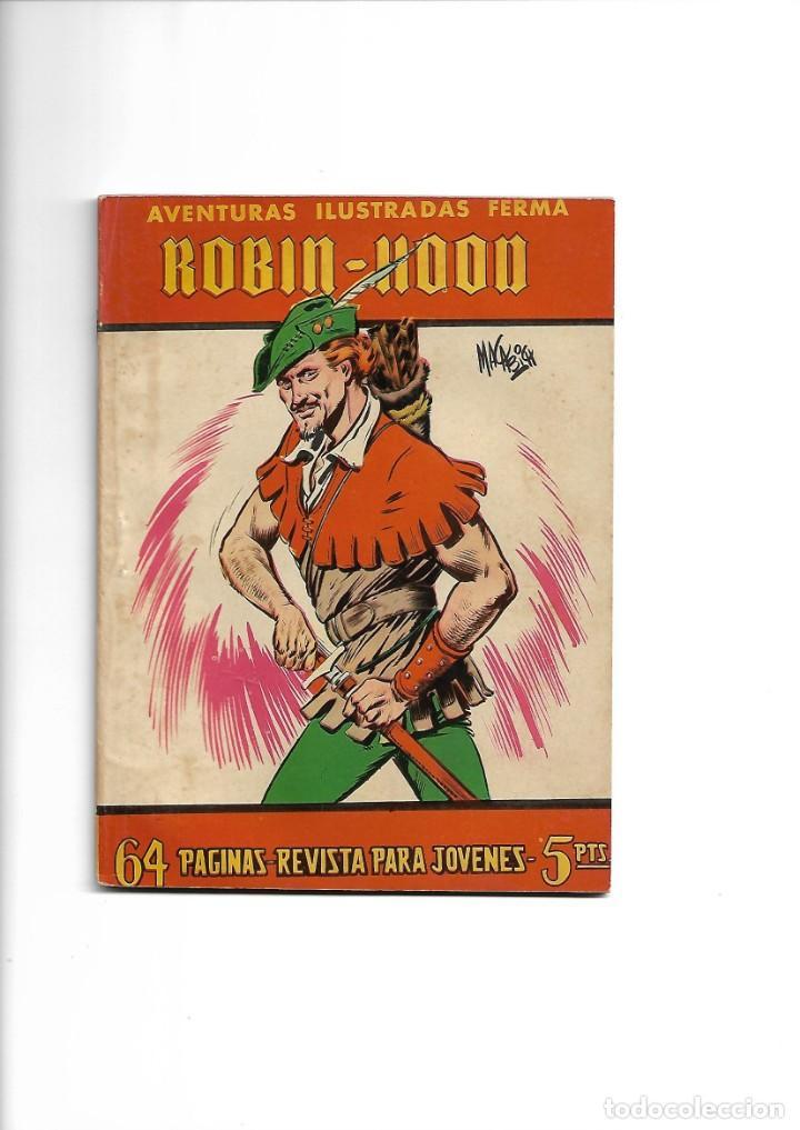 Tebeos: Aventuras Ilustradas Ferma, Año 1.958. Colección Completa son 88. Tebeos Originales Nuevos - Foto 28 - 134816354