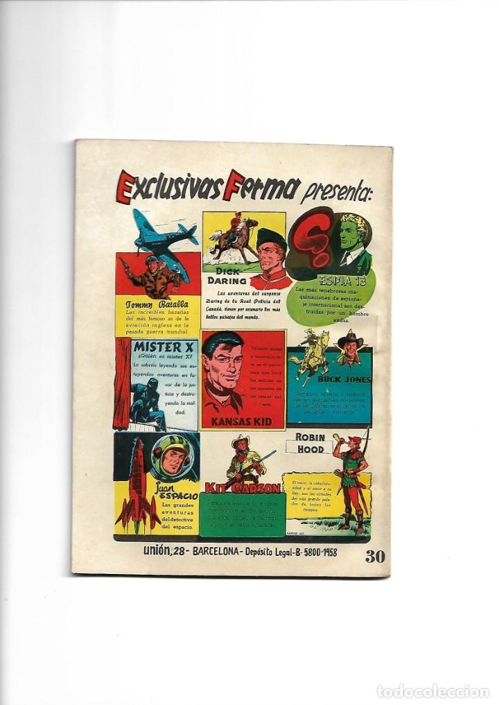 Tebeos: Aventuras Ilustradas Ferma, Año 1.958. Colección Completa son 88. Tebeos Originales Nuevos - Foto 27 - 134816354